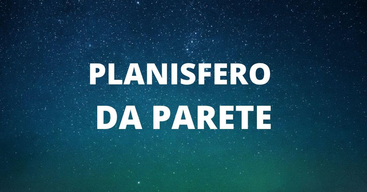 PLANISFERO DA PARETE